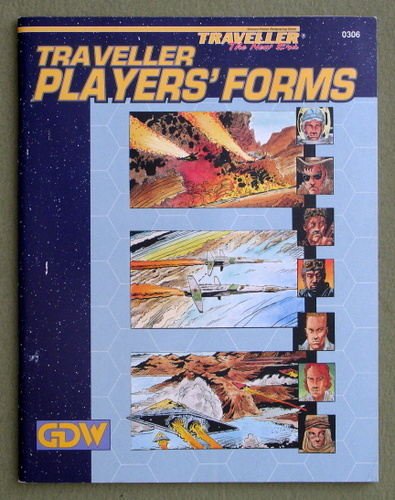 Traveller Players' Forms (Traveller: The New Era)