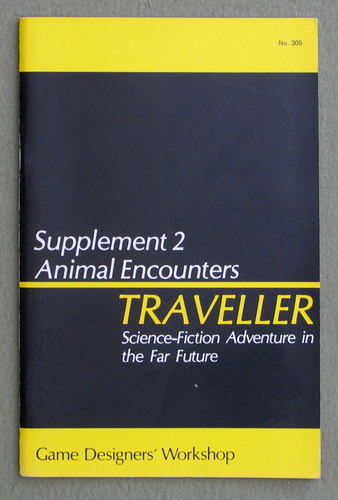 Traveller Supplement 2: Animal Encounters