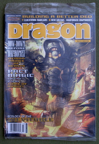 Dragon Magazine, Issue 341