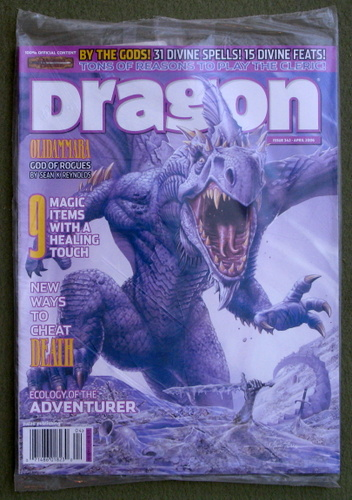 Dragon Magazine, Issue 342