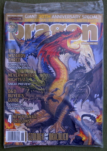Dragon Magazine, Issue 344