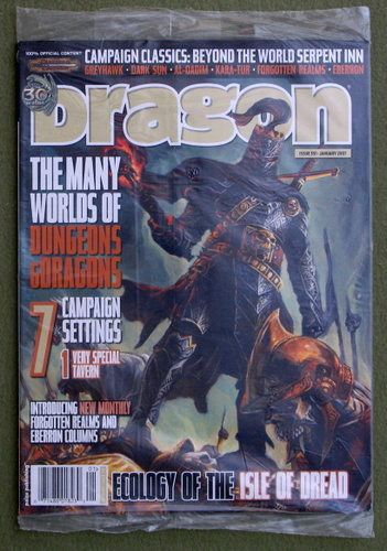 Dragon Magazine, Issue 351