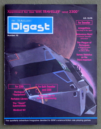 Travellers' Digest, Issue 10 (Traveller/Megatraveller)