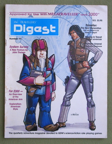 Travellers' Digest, Issue 11 (Traveller RPG)