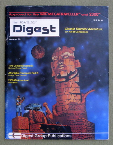 Travellers' Digest, Issue 20 (Traveller RPG) - READING COPY