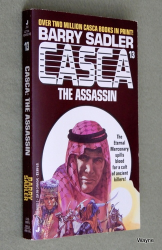 Casca the Assassin (#13), Barry Sadler