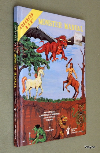 Monster Manual (Advanced Dungeons & Dragons, 1st Edition), Gary Gygax