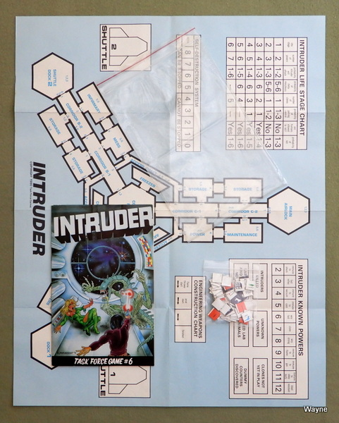 Intruder (Role Playing Game) - Task Force Game #6