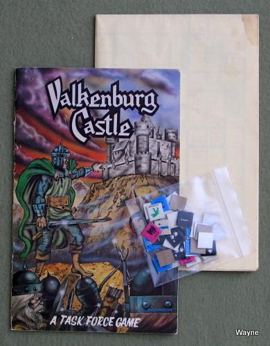 Valkenburg Castle: A Task Force Game - 43/54 COUNTERS, Stephen V. Cole