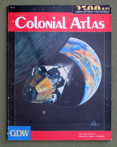 Colonial Atlas (2300AD role playing game), Rob Caswell