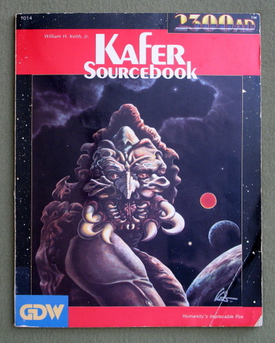 Kafer Sourcebook (2300AD role playing game) - PLAY COPY, William H. Keith Jr.