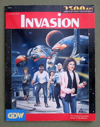 Invasion (2300AD role playing game) - PLAY COPY, J. Andrew Keith