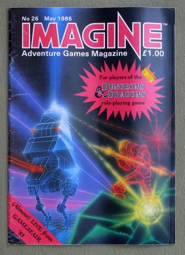 Imagine Magazine, Issue 26 (May 1985)