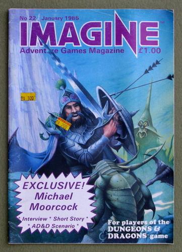 Imagine Magazine, Issue 22 (Jan 1985)