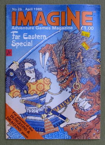 Imagine Magazine, Issue 25 (April 1985)