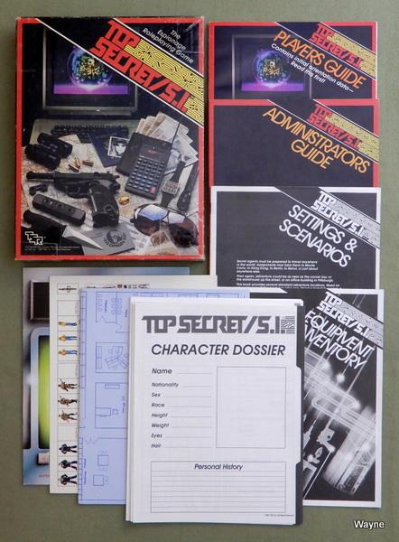 Top Secret/S.I. (Espionage Roleplaying Game)