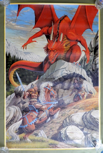 Dragon on the Rock (Dungeons & Dragons), Larry Elmore