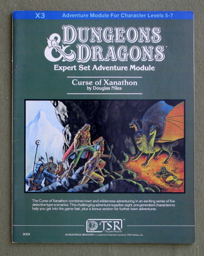 Curse of Xanathon (Dungeons and Dragons Module X3), Douglas Niles