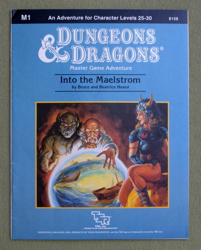Into the Maelstrom (Dungeons & Dragons Module M1), Bruce & Beatrice Heard