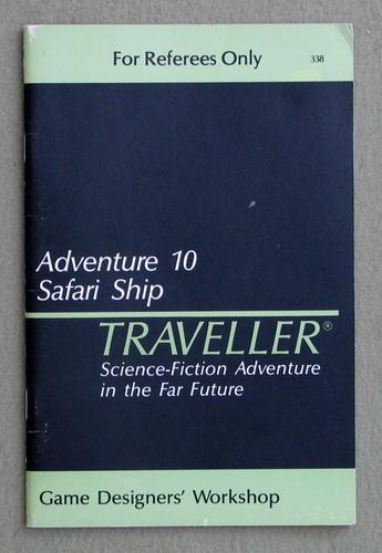 Traveller Adventure 10: Safari Ship, Marc Miller