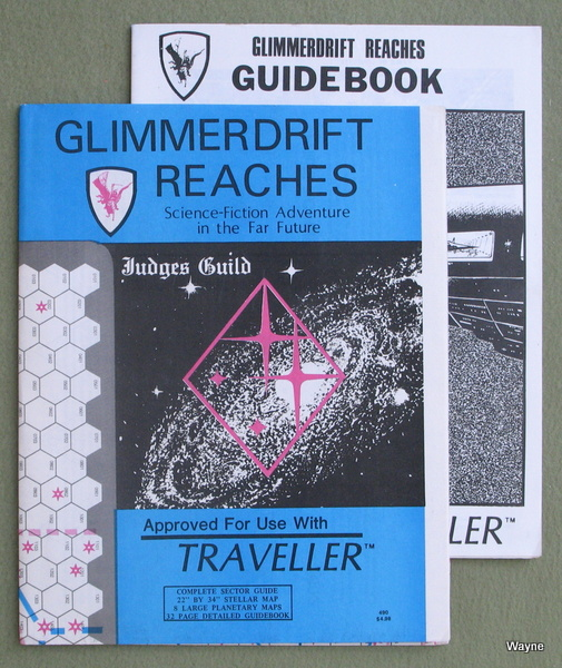Glimmerdrift Reaches (Traveller RPG)