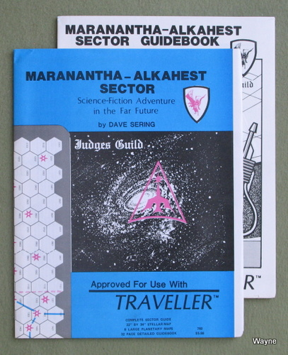 Maranantha-Alkahest Sector (Traveller RPG), Dave Sering