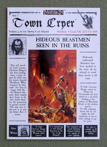 Town Cryer, Issue 7 (Mordheim)