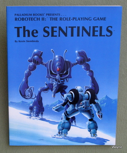 Sentinels (Robotech II: The Role Playing Game), Kevin Siembieda