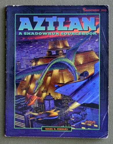 Aztlan: A Shadowrun Sourcebook - PLAY COPY, Nigel D. Findley