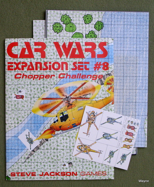 Car Wars Expansion Set #8: Chopper Challenge