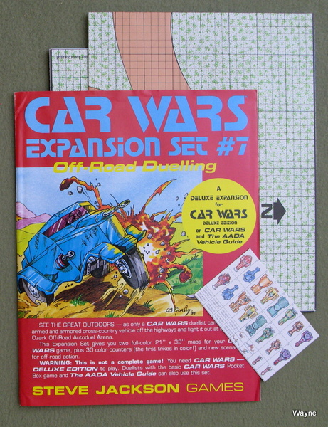 Car Wars Expansion Set #7: Off-Road Dueling