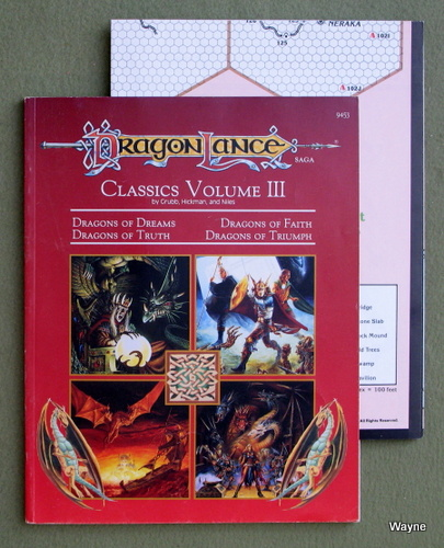 Dragonlance Classics, Volume 3 (Advanced Dungeons & Dragons module DLC3), Jeff Grubb & Tracy Hickman & Doug Niles