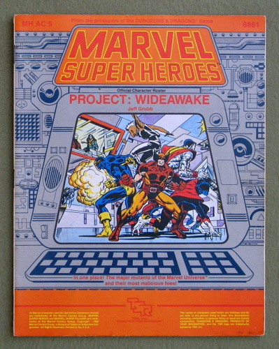 Project: Wideawake (Marvel Super Heroes accessory MHAC5)