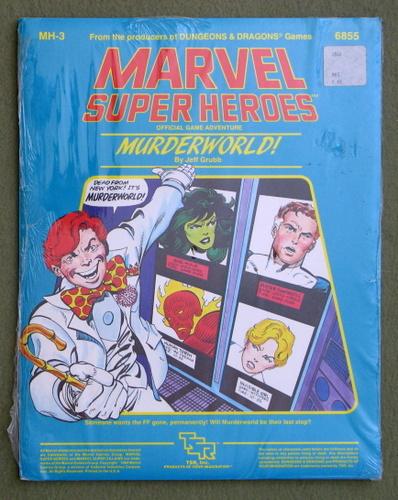 Murderworld! (Marvel Super Heroes module MH3), Jeff Grubb