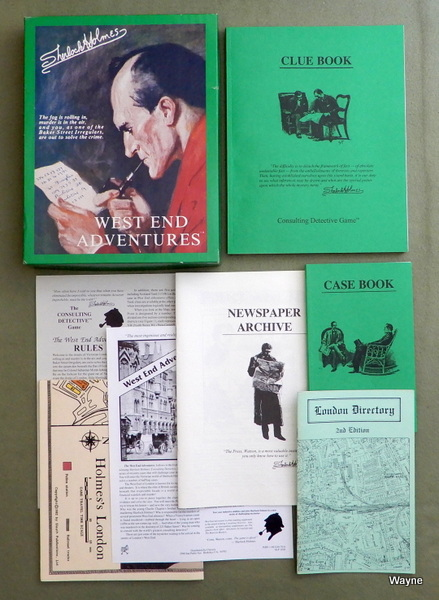 West End Adventures (Sherlock Holmes Consulting Detective), Gary Grady