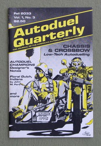 Autoduel Quarterly: Vol. 1, No. 3 (Car Wars)