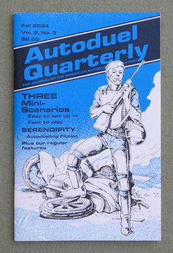 Autoduel Quarterly: Vol. 2, No. 3 (Car Wars)