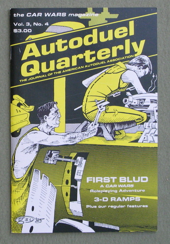 Autoduel Quarterly: Vol. 3, No. 4 (Car Wars)
