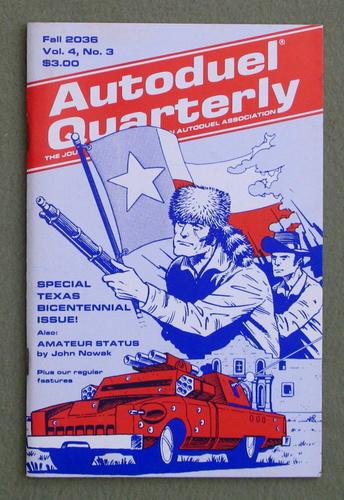 Autoduel Quarterly: Vol. 4, No. 3 (Car Wars)