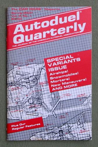 Autoduel Quarterly: Vol. 5, No. 1 (Car Wars)