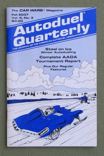 Autoduel Quarterly: Vol. 5, No. 3 (Car Wars)