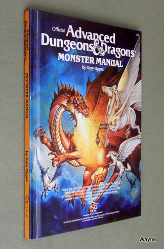 Monster Manual (Advanced Dungeons and Dragons), Gary Gygax