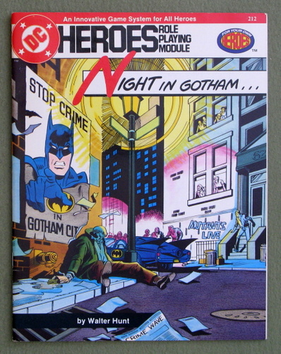 Night in Gotham (DC Heroes), Walter Hunt