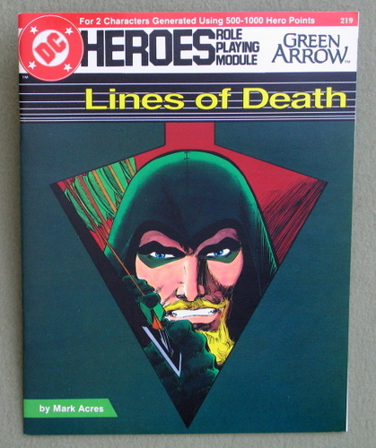 Lines of Death (DC Heroes RPG), Mark Acres