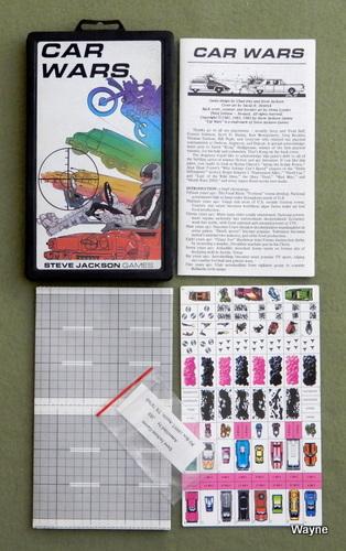 Car Wars (Original Plastic Case Set)