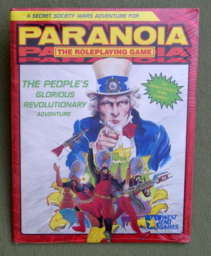 The People's Glorious Revolutionary Adventure (Paranoia RPG), Edward S. Bolme