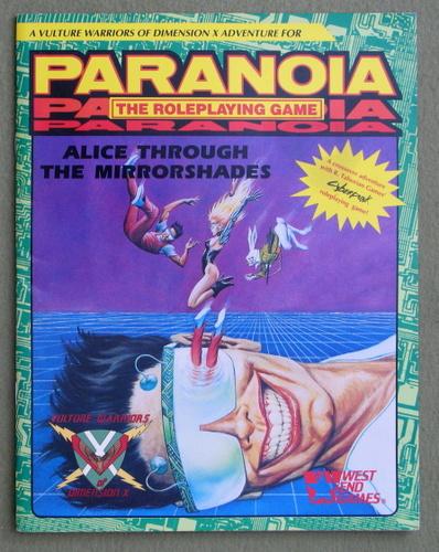 Alice Through the Mirrorshades (Paranoia/Cyberpunk), Edward Bolme
