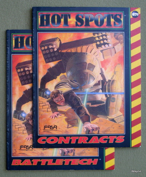 Hot Spots: Contracts (Battletech) [2-book set]