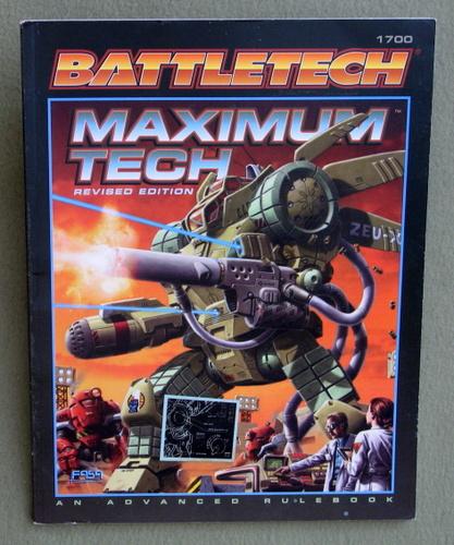 Maximum Tech, Revised Edition (Battletech 1700)