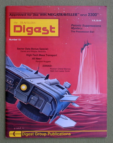 Travellers' Digest, Issue 19 (Traveller RPG)